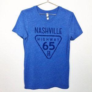 Next Level Nashville Highway 65 Graphic Tee